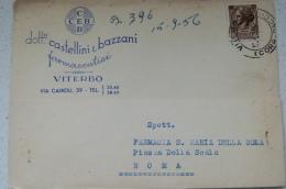 VITERBO - CEB DOTTORI CASTELLINI E BAZZANI FARMACEUTICI (FARMACIA) PUBBLICITARIA - Viterbo