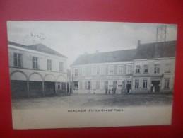 """Berchem (Audenarde) : La Grand Place -Café """"Au Grand Picard"""" (B3850) - Oudenaarde"""