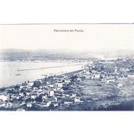VCYTPA3877-LFTD8533.Tarjeta Postal De Vizcaya.Edificios,mar,campo Y PANORAMICA DEL PUERTO DE BILBAO - Vizcaya (Bilbao)