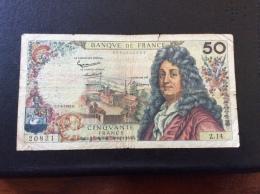 50 Francs 7-6-1962 - 50 F 1962-1976 ''Racine''