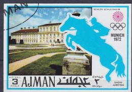 1972 Ajman / Adschman München, Munic, Schloß Schleißheim équitation Horse Riding Reiten Pferd Hípica [DV01]