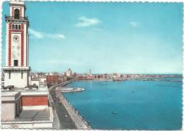R1031 Bari - Campanile Del Palazzo Della Provincia / Viaggiata 1960 - Bari