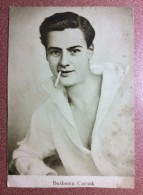 RARE! Vintage Russian Photo Postcard 1928 Walter Slezak Film Actor USSR Edit. Cinema Print - Acteurs