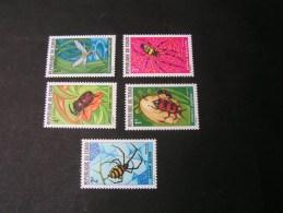 == Tchad Insekten  510-514  **/MNH  € 16,00 - Tschad (1960-...)