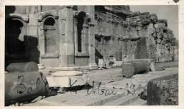 PHOTO : LIBAN . BAALBEK . RUINES . 1933 . - Lieux