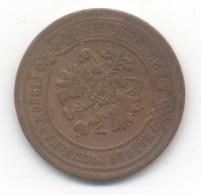 RUSSIE 3 KOPEKS 1870   E M +  2 KOPEKS 1873 E M .....TB/TTB - Russie