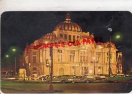 MEXIQUE - MEXICO - VISTA NOCTURNA DES PALACIO DE LAS BELLAS ARTES -PALACE OF FINE ARTS CULTURAL CENTER - Mexique