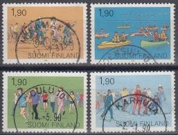 Finlandia 1989 Nº 1038/41 Usado - Gebraucht