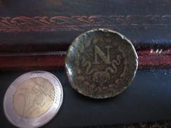 UN DECIME A L'N COURONNE - 1814-   - VOIR PHOTOS ' - D. 10 Céntimos
