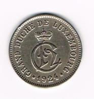 °°° LUXEMBOURG 10 CENTIMES 1924 - Luxembourg