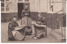 """BRUGGE KANKLOSSERS DENTELLIÈRES  Flamandes  """" STAR """" Uitgever 1912 Stempel - Brugge"""