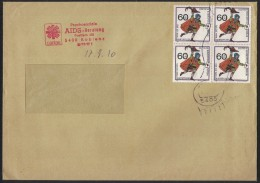 PF378    Germany 1990  Envelope  Caritas  Psichosoziale  AIDS - Beratung - Koblenz - Malattie