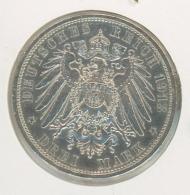 3 Mark Silber Argent Preussen Preußen 1913 - 2, 3 & 5 Mark Argent