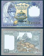 Nepal 1 Rupee 1991 UNC - Nepal