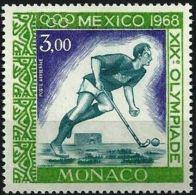 MONACO Jeux Olympiques (olympic Games) MEXICO 1968. Yvert PA 92. ** MNH , Neuf Sans Charniere - Verano 1968: México