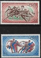 TCHAD Jeux Olympiques (olympic Games) MEXICO 68. Yvert PA 49/50 *MLH , - Summer 1968: Mexico City