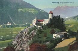 AK Sterzing Vipiteno Südtirol Burg Sprechenstein Color ~1910 #01 - Vipiteno