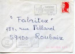 Flamme,culture,statut,monument Musique Tambour D'Arcole,armée Napoleon,André Estienne,lettre 9.2.1984 Cadenet - Cultures