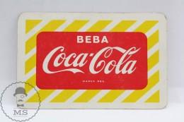 Advertising Coca Cola Pocket Calendar 1959 Spain - Edited: Heraclio Fournier Vitoria, Spain - Tamaño Pequeño : 1941-60