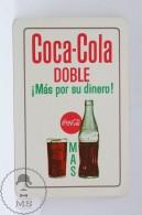 Advertising Coca Cola Pocket Calendar 1964 Spain - Edited: Heraclio Fournier Vitoria, Spain - Calendarios
