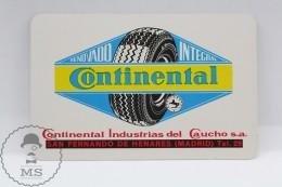 Advertising Continental Tyres Pocket Calendar 1968 Spain - Edited: Heraclio Fournier Vitoria, Spain - Calendarios