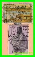 ESPAÑA  ZAHARA  COLONIA ESPAÑOLA  ( EUROPA ) 2 SELLOS AÑO 1975 - Sahara Español