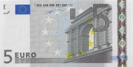 Billet 5 Euros 2002 Signature Wim Duisenberg TRÈS RARE DANS CET ÉTAT - 5 Euro