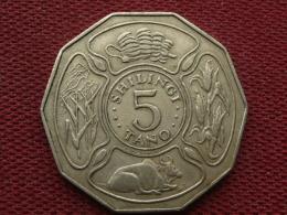 TANZANIE Monnaie De 5 Shilingi 1972 - Tanzanie
