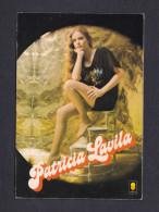 Vintage Seventies Carte Signature Manuscrite Chanteuse Patricia Lavila Disques Trema Photo Roddy - Artisti