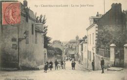 44 - LOIRE ATLANTIQUE - Chantenay Sur Loire - Rue Jules Verne - France