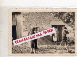 87 - BELLAC - PHOTO ORIGINALE DU PEINTRE AIME VALLAT AVEC SON BERET - Photographs