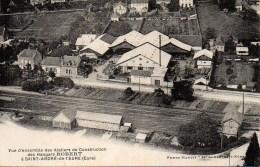 27 SAINT-ANDRE-de-l'EURE Vue D'ensemble Des Ateliers De Construction Des Hangars Robert - Autres Communes