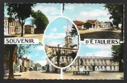 ETAULIERS Multivues Souvenir (Elcé) Gironde (33) - Autres Communes