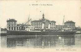 TC-K-16- 035 : CALAIS BATEAU - Calais