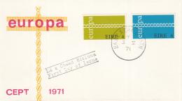 Ierland - FDC 3-5-1971 - Europa/CEPT - M 265-266 - 1971