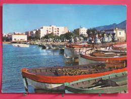 Carte Pas Très Courante - Espagne - Rosas - Costa Brava - Barcas Baradas - Scans Recto-verso - Gerona
