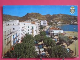 Carte Pas Très Courante - Espagne - Rosas - Plaza De San Pedro Y Lonja De Pescados - Jolis Timbres Neufs - Recto-verso - Gerona