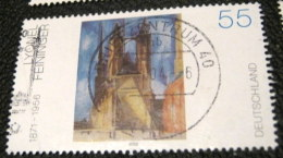 Germany 2002 Painting By Lyonel Feininger 55c - Used - Zonder Classificatie