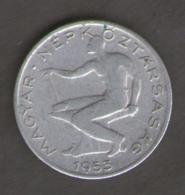 UNGHERIA 50 FILLER 1953 - Ungheria