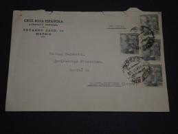 ESPAGNE – Env Pour Paris – Années Après Guerre - Détaillons Collection - A Voir - Lot N° 17269 - Cartas