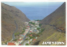 SAINT HELENA ISLAND, JAMESTOWN , VISTA PARCIAL [ 36997] - Saint Helena Island