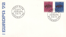 Zwitserland - FDC 2-5-1972 - Europa/CEPT - M 969-970 - 1972