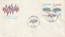 Turkije - FDC 2-5-1972 - Europa/CEPT - M 2253-2254 - 1972