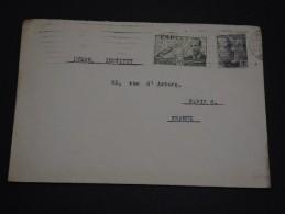 ESPAGNE – Env Pour Paris – Années Après Guerre - Détaillons Collection - A Voir - Lot N° 17271 - Cartas