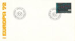 Liechtenstein - FDC 16-3-1972 - Europa/CEPT - M 564 - 1972