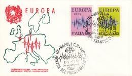 Italië - FDC 2-5-1972 - Europa/CEPT - M 1364-1365 - 1972