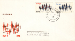 Ierland - FDC 1-5-1972 - Europa/CEPT - M 276-277 - 1972
