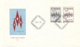 Finland - FDC 2-5-1972 - Europa/CEPT - M 700-701 - 1972