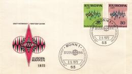 Duitsland - FDC 2-5-1972 - Europa/CEPT - M 716-717 - 1972