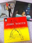 LOT 3 - VINYL LP - JOSH WHITE, One French Pressing - Sixties - Blues Folk - Blues